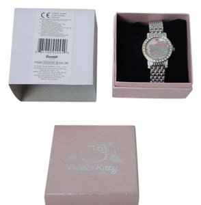 Hello Kitty Hello Kitty Watch Silver Color Link Chain Band