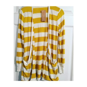 Francesca's Cardigan Stripes Spring Gift Sweater
