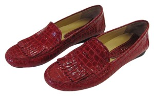 Vaneli Brand New Size 7.50 M Padded Footbed Excellent Condition Red Flats