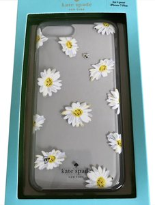 Kate Spade IPHONE 7 PLUS NWT FALLING DAISIES RESIN