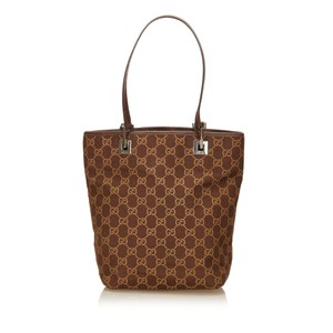 Gucci 7aguhb004 Tote in Brown