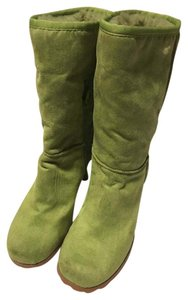 Bamboo Kelly green Boots