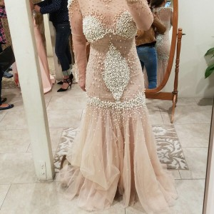 Evening Gown Wedding Dress