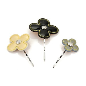 Louis Vuitton Louis Vuitton Paris Valletta Fleurs Hair Pins - Set of 3