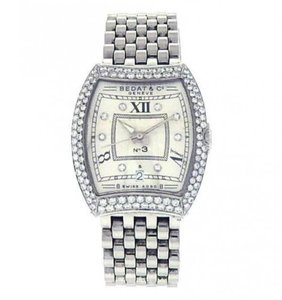 Bedat & Co Bedat & Co No.3 314.031.109 Stainless Steel Diamonds Bezel White
