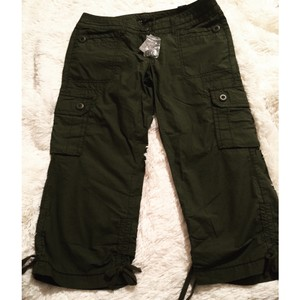 The Limited Capris Army Green