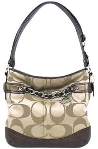 Coach Duffle Medium Brown Hobo Bag
