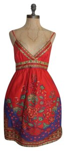 Flying Tomato short dress MULTI Backless Printed Summer on Tradesy