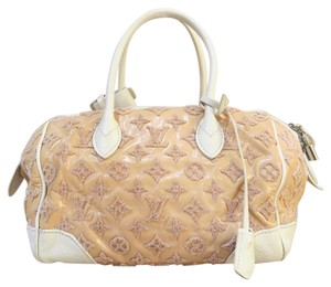 Louis Vuitton Lv Bouclettes Speedy Round Tote in pink