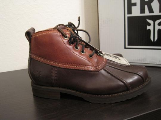 Frye Duck Rain Snow Brown Boots