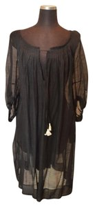Thierry Colson Chic black silk cover up