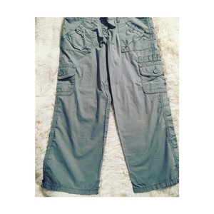 The Limited Cargo Pants Travel Hiking Capris Grey