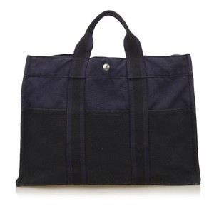 Hermès 6lheto007 Tote in Navy Blue