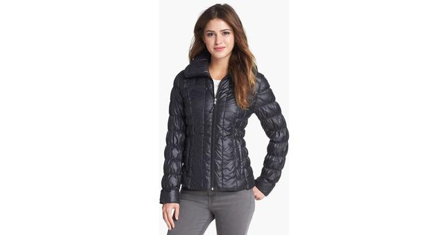Kenneth Cole Puffer Jacket Winter Light Packable Coat