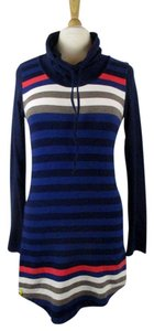 Lolë short dress Multi-Color Organic Cotton Yoga Cowl Neck on Tradesy