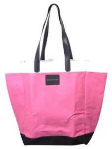 Victoria's Secret Color Tote in Pink and black