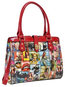 Other Hippie Boho The Treasured Hippie Large Handbags Affordable Satchel in Red