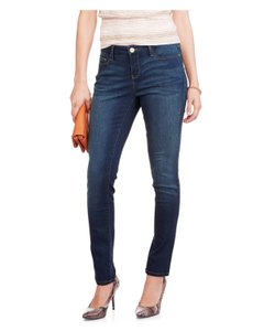 Faded Glory Skinny Jeans-Dark Rinse