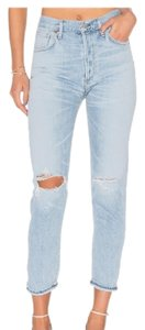 Citizens of Humanity Boyfriend Cut Jeans-Distressed