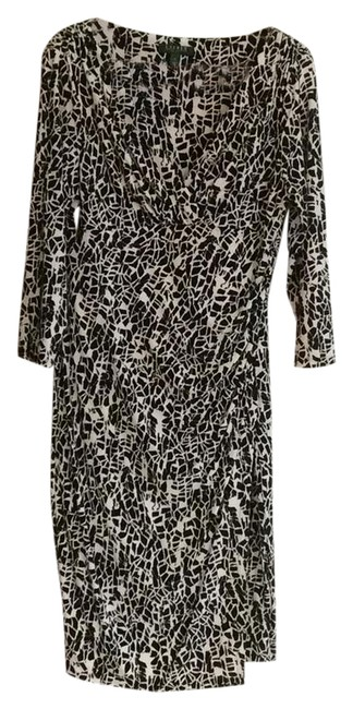 Preload https://img-static.tradesy.com/item/20883998/ralph-lauren-black-and-white-mid-length-night-out-dress-size-14-l-0-1-650-650.jpg