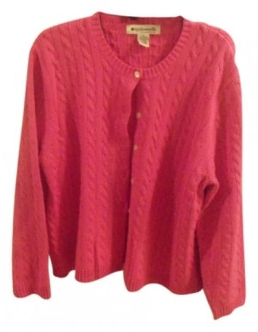 Preload https://img-static.tradesy.com/item/20884/appleseed-s-hot-pink-long-sleeve-cable-stitch-cardigan-size-16-xl-plus-0x-0-0-650-650.jpg