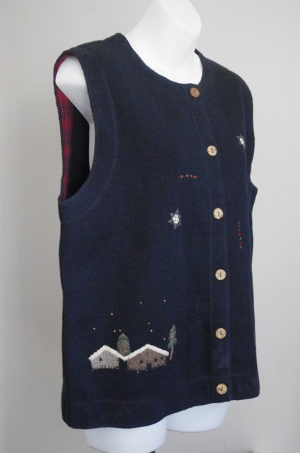 Woolrich Embroidered Vest Sweater