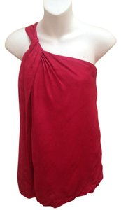 Theory One Festive Top Red