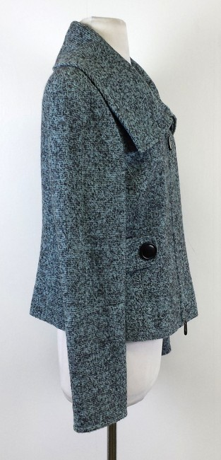 Other Tweed Wool Blend Blue & Black Jacket