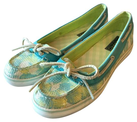 Preload https://img-static.tradesy.com/item/20884316/sperry-bluegreenwhite-top-siders-flats-size-us-7-regular-m-b-0-1-540-540.jpg