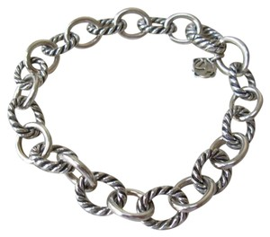 David Yurman Medium Oval Link Chain Bracelet