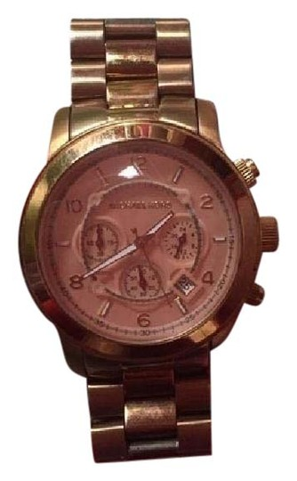 Michael Kors Unisex Rose Gold Michael Kors Watch + Links
