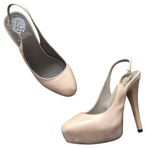 Vince Camuto Taupe Pumps