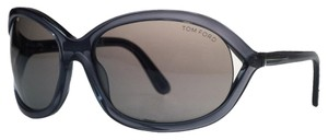 Tom Ford Tom Ford Charcoal Oval Sunglasses