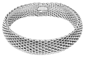 Tiffany & Co. TIFFANY & CO Narrow Somerset Mesh Bangle!