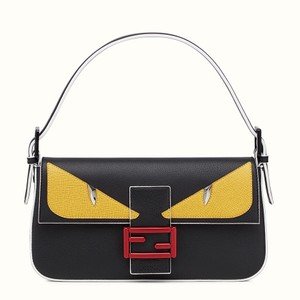 Fendi Leather Monster Shoulder Bag