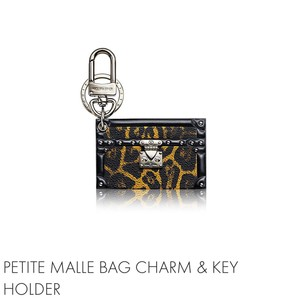 Louis Vuitton Sold Out! Limited Edition Petit Malle Bag Charm/ Key Holder