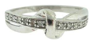 Other Antique Twisted Vine Diamond Ring-9k White Gold