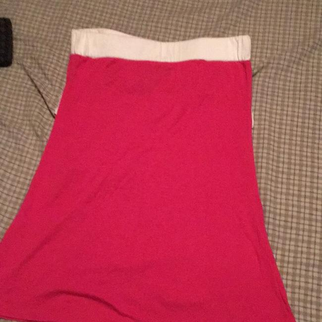 Wet Seal Top pink and white