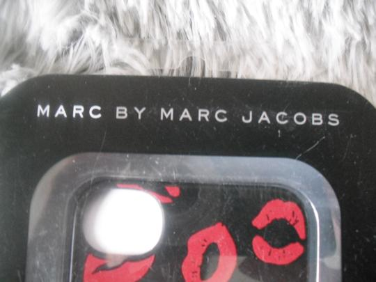 Marc by Marc Jacobs iPhone 4s Mademoiselle Hard Snap Cell Phone Case Black Red Lips