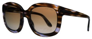 Tom Ford Tom Ford Purple Havana Square Sunglasses