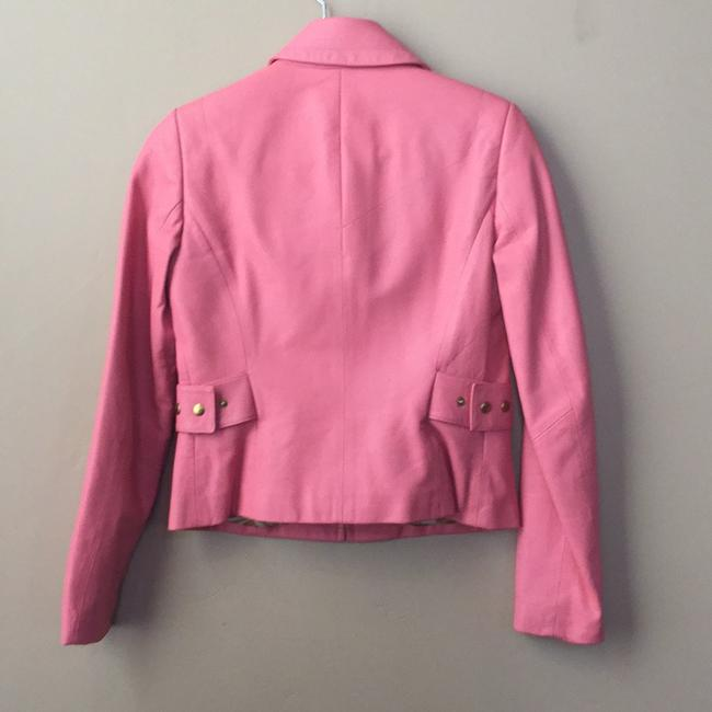 Dana Buchman Soft coral. The pictures make it look pink but it's not at all. Jacket