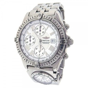 Breitling Breitling Crosswind A13355 Chronograph Stainless Steel Automatic White