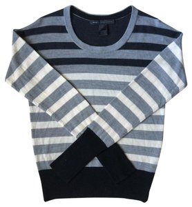 Marc by Marc Jacobs Striped Crew Neckline Sweater