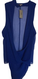 Helmut Lang Top deep blue