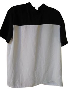 Clover Canyon T Shirt Black white
