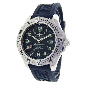 Breitling Breitling SuperOcean A17360 Stainless Steel Blue Rubber Automatic