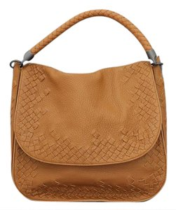 Bottega Veneta Intrecciato Flap Woven Braided Shoulder Bag