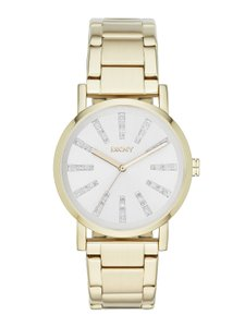 DKNY DKNY Women's Soho Three Hand Stainless Steel Watch NY2417