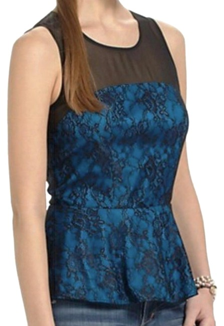 Preload https://img-static.tradesy.com/item/20885477/anthropologie-blue-rock-the-lace-blouse-size-10-m-0-3-650-650.jpg