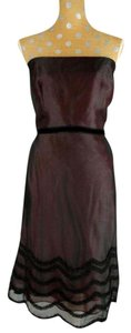 Kay Unger Silk Cocktail Weading Dress